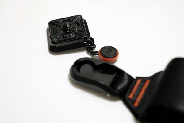 peak designのカメラストラップslideのアンカーマウント