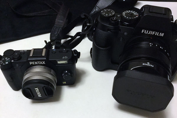 愛用しているカメラ