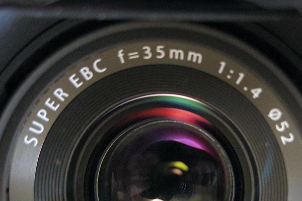 レンズの焦点距離の基本