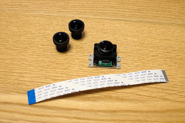 DesignSpark ラズベリーパイカメラ 広角VR220カメラのレンズ交換方法