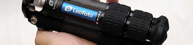 Leofotoのカーボンミニ三脚LS-223Cレビュー
