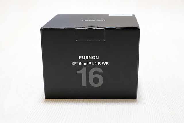フジノンレンズXF16mm F1.4 R WRを風景写真用に購入