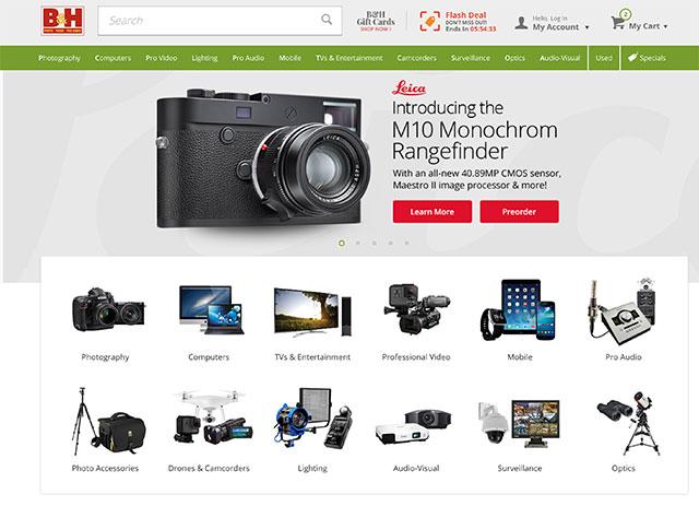 写真映像機材は海外から個人輸入した方が安い物が多い