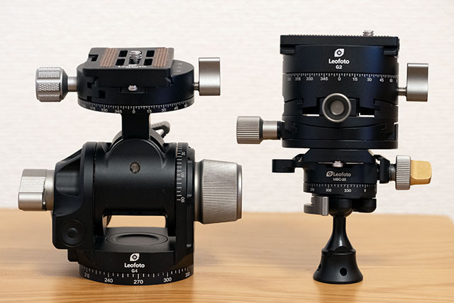 Leofoto G2 とMBC-20