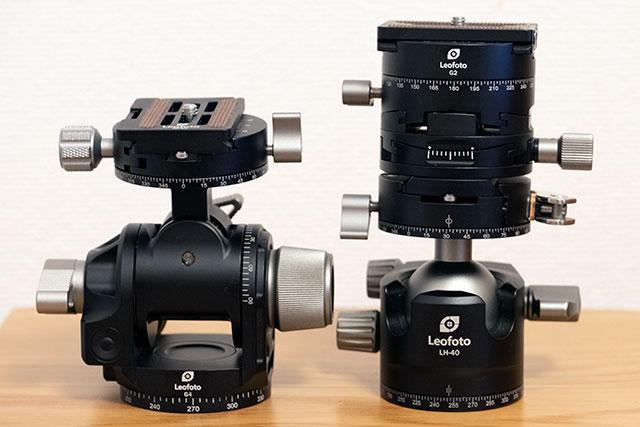 Leofoto G2 と LH-40
