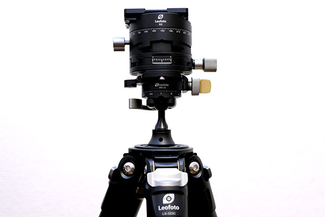 Leofoto G2とMBC-20