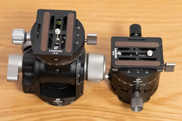 Leofoto G4とG2の比較まとめ