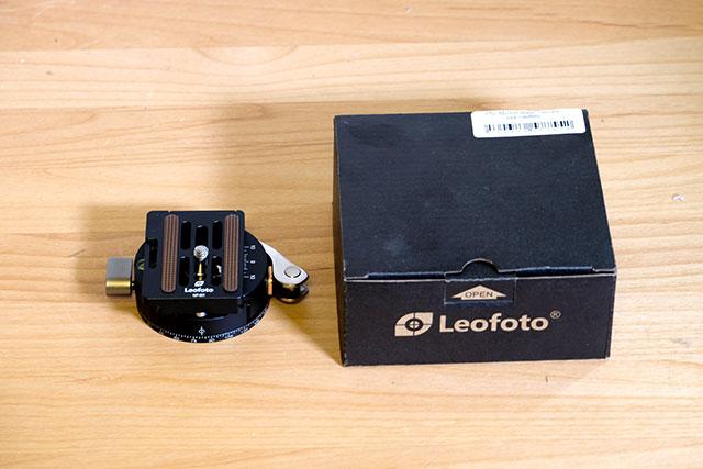 Leofoto レバークランプ