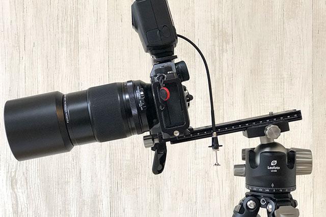 カメラを被写体に近づける マクロ撮影など