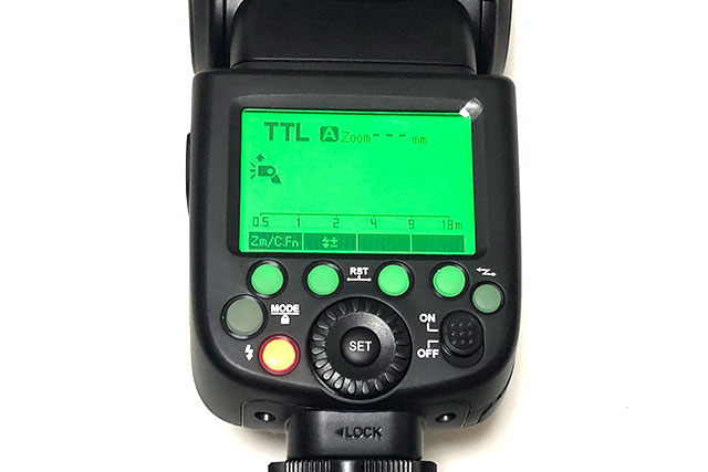TTL(自動調光)でカメラをオートにした撮影